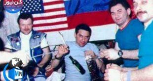 بر اساس قوانین ناسا بردن هر گونه مشروبات الکلی توسط فضانوردان در ماموریت های فضایی به ایستگاه بین المللی ممنوع می باشد