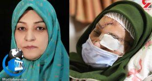 ماجرای هولناک اشرف سادات حسینی پس از حمله شوهرش با قمه به او و تکه تکه شدن دستان و صورتش مجری از ناباوری و ترس را در چشمان همه جاری کرد