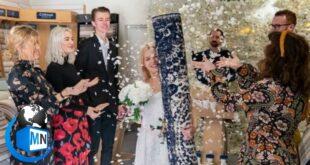 ماجرای ازدواج یک دختر انگلیسی با فرش خانه خود به یک ماجرای جنجالی و داغ در فضای مجازی تبدیل شده است در ادامه عکس ها و فیلم های این ماجرا را ببینید