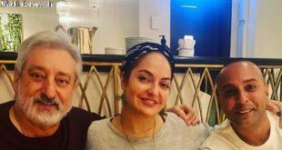 انتشار عکسی جدید از (مهناز افشار) در کنار ابی و آرش خواننده های لس آنجلسی بعد از مدت ها حضور او در برنامه پرشین گات تلنت خبرساز شد