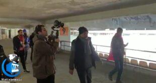 انتشار فیلمی از پشت صحنه سریال (خانه امن) با حضور یک تروریست در پوشش هوادار تیم پرسپولیس در این فیلم حاشیه ساز شد