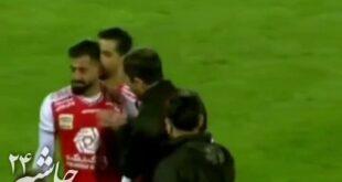 ماجرای برخورد پر از استرس و عصبانیت کریم باقری با حسین کنعانی زادگان در جریان مسابقه فولاد و خوزستان به سوژه رسانهها تبدیل شد