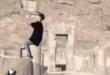 پارکور کارها در محوطه تاریخی تخت جمشید