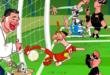ماجرای به اشتباه مردود اعلام شدن گل ملی رونالدو در مسابقات مقدماتی جام جهانی سوژه بسیاری از رسانهها و کاریکاتوریستها شد
