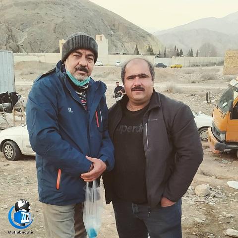 بیوگرافی «کاظم نوربخش» و همسرش + عکس های خانوادگی و معرفی آثار