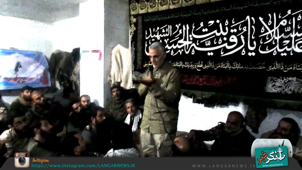 ماجرای (بوسه سردار قاسم سلیمانی) بر دست سردار حق بین در سوریه چه بود؟ + عکس