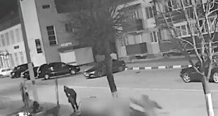فیلمی از حمله و زیر گرفتن عابرین پیاده توسط یک راننده عصبانی بلاروسی بعد از مشاجره در کافه به یکی از پر بیننده ترین ویدیو ها در فضای مجازی تبدیل شد