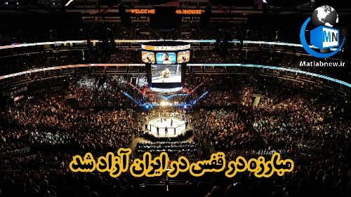 مبارزه در قفس (رشته MMA) در ایران آزاد شد/ جزئیات حضور زنان