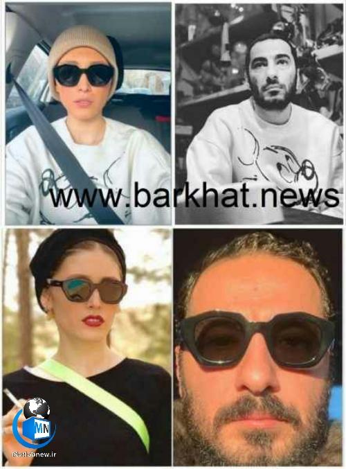 عکس/ ماجرای عاشقانه های خاص و ست کردن لباس نوید محمدزاده و فرشته حسینی چیست؟