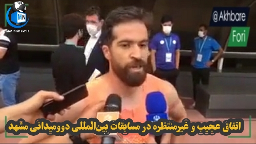 سرقت کفشهای دونده ملی پوش در مسابقات بین المللی دو و میدانی مشهد + مصاحبه اختصاصی