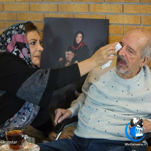 تصاویر عاشقانه و ازدواج مرحوم محسن قاضیمرادی و مهوش وقاری
