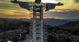 یکی از بزرگترین پروژه های ساخت مجسمه در برزیل در حال اجراست و تصاویری از مراحل ساخت و ساز این مجسمه منتشر گردید