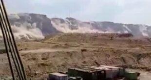 در جدیدترین فیلم منتشر شده از زلزله امروز بندر گناوه که با قدرت ۵.۹ دهم ریشتر به وقوع پیوست