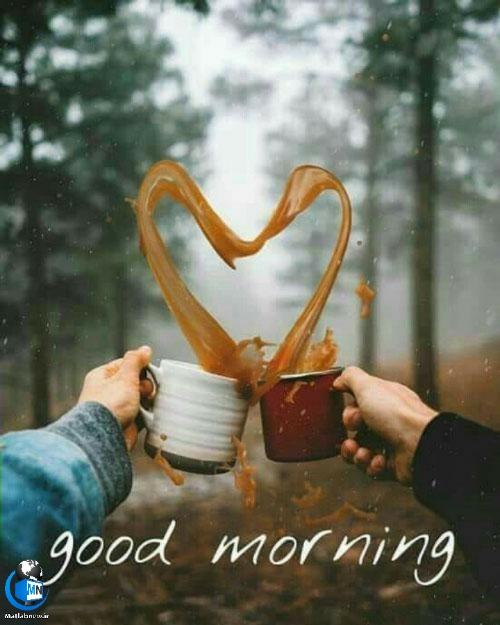 عکس نوشته های انگلیسی و فارسی صبح بخیر عشقم