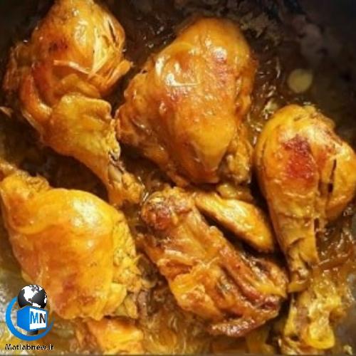 طرز پخت (مرغ زعفرانی رستورانی) ویژه و لذیذ +تصاویر و ترفندهای آشپزی