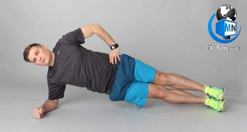 چندین حرکت بدن سازی ساده برای «ورزش» در خانه