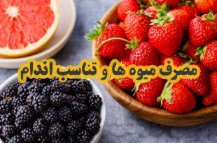استفاده کردن از میوه ها و سبزی ها در رسیدن به تناسب اندام و کاهش وزن بسیار موثر می باشد با ما همراه باشید تا به بررسی این موضوع بپردازیم