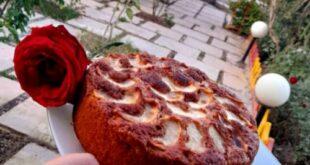 طرز تهیه (کیک سیب و دارچین) خوش عطر و بینظیر + نکات مهم کیک پزی