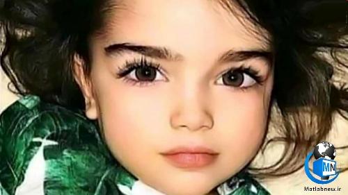 عکس/ ملاک الطنانی (زیباترین دختر سه ساله) که در غزه شهید شد کیست؟