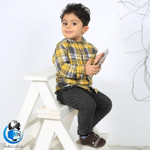 بیوگرافی «سامی غریبی» بازیگر خردسال + عکس های جذاب و خانوادگی