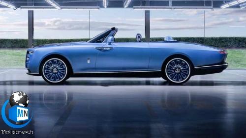 فیلم/ رونمایی از رولز رویس (بوت تیل) گرانترین خودروی جهان + عکس