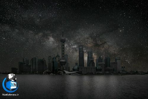 عکس/ نمایی رویایی از (آسمان شب چهار شهر بزرگ دنیا) در حالتی بدون چراغ و آلودگی
