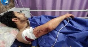 محمد دلکش عکاس خبری رسانه چند روز پیش مورد حمله خونین چند فرد زورگیر قرار گرفت و با ۲۱ ضربه چاقو به شدت مجروح و در بیمارستان بستری گردید