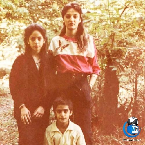 عکس بی حجاب «مهناز افشار» در سنین بلوغ در صفحه اینستاگرامش