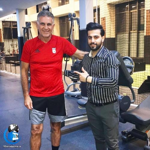 بیوگرافی «نوید عبدزاده» معروف به شوماخر ایرانی + (آرایشگر اختصاصی فوتبالیست ها)
