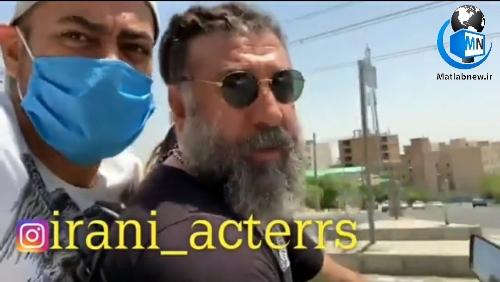 فیلم/ موتور سواری مرحوم (علی انصاریان) پیش از فوتش را ببینید