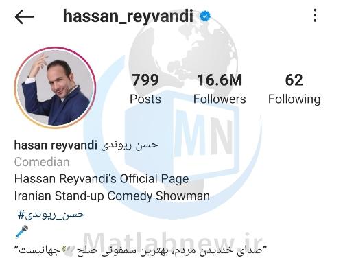 بیوگرافی «حسن ریوندی» کمدین و طنزپرداز مشهور + فعالیت های هنری و عکس ها