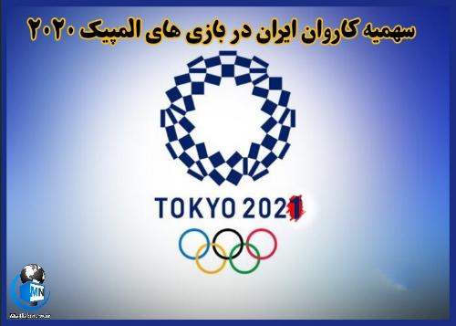 سهمیه کاروان ایران در بازیهای المپیک 2020