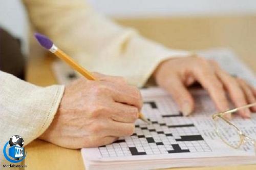آیا حل کردن جدول از آلزایمر جلوگیری می کند؟