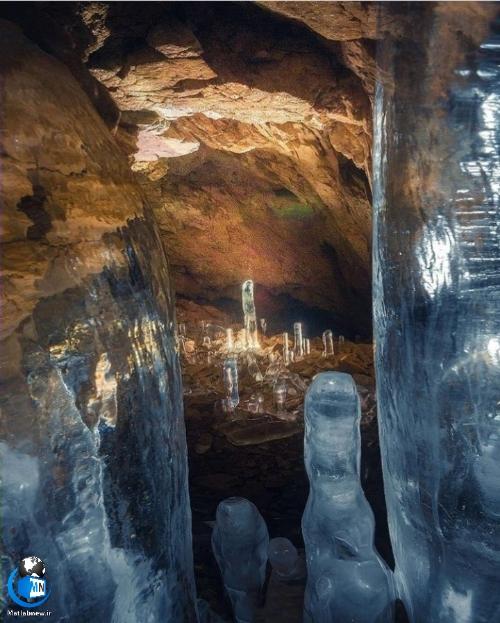 راهنمای گردشگری غار یخ مراد