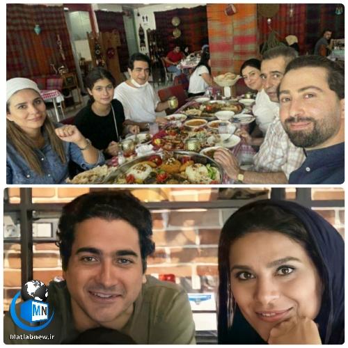 عکس لو رفته خانوادگی از همایون شجریان و سحر دولتشاهی در کردستان عراق خبرساز شد + ماجرای عکس خانوادگی