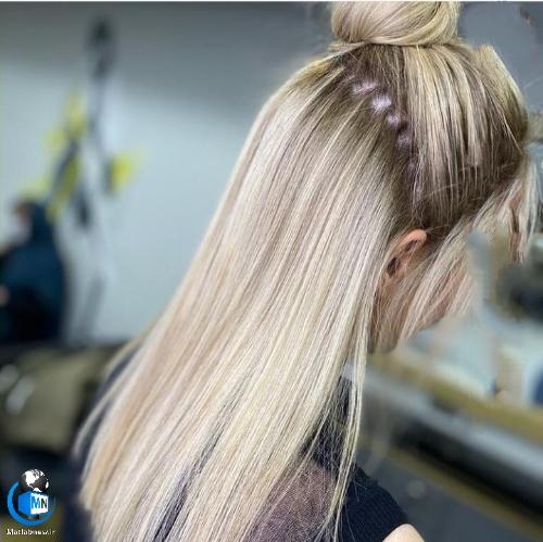 جدیدترین مدل های رنگ مو روشن زنانه 2021