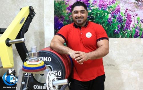 بیوگرافی «سامان رضی» قهرمان وزنه برداری پارالمپیک + حضور در المپیک توکیو ۲۰۲۰