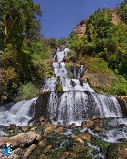 معرفی و راهنمای گردشگری آبشار لندی چهار محال و بختیاری