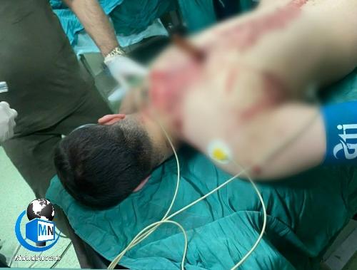 حمله وحشیانه با ضربات چاقو به پرستار بیمارستان شهدای تجریش + عکس دلخراش