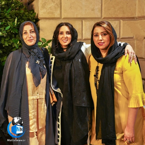 عکس جشن آزادی حمید صفت در کنار بازیگران؛ لیلا بلوکات،مهران غفوریان،پوریا پورسرخ